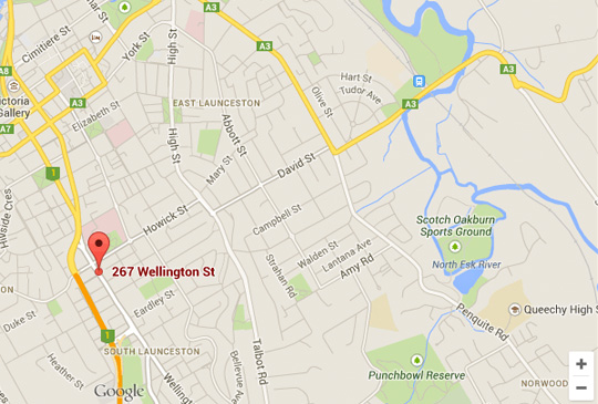 auto addiction launceston map